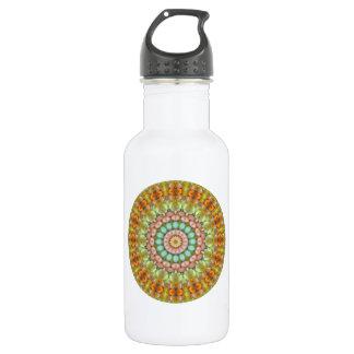 Pastellrundes Geleebonbon-MehrfarbenKaleidoskop Trinkflasche
