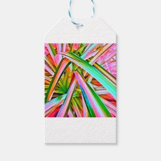 Pastellspinnen-Pflanzen-Blätter Geschenkanhänger