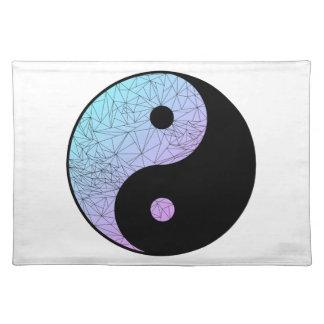 Pastellsteigung Yin Yang Tischset