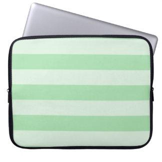 Pastellstreifen Laptop Sleeve