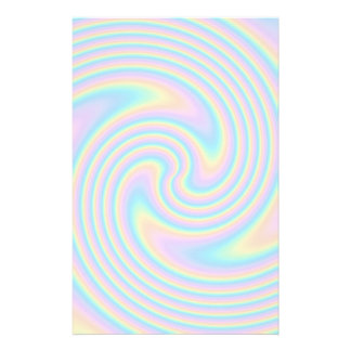 Pastellstrudel-Drehungs-Entwurf Individuelle Druckpapiere
