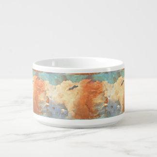 Pastellsturm-Wolken-Chili-Schüssel Kleine Suppentasse