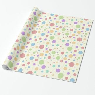 PastellTupfen Geschenkpapier