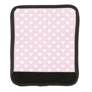 PastellValentinsgruß-Herzen Koffergriffwickel