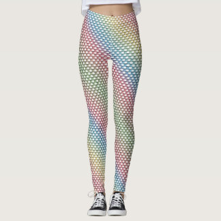 Pastellwebart Leggings