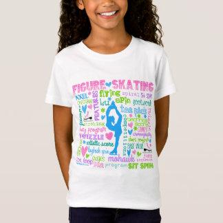 Pastellzahl Skater fasst Typografie ab T-Shirt