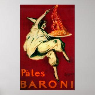 Pasteten Baroni Vintages PosterEurope