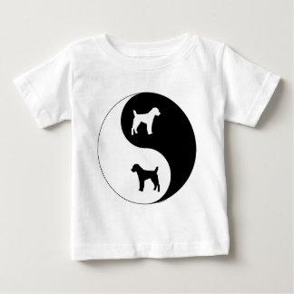 Pastor-Jack Russell Yin Yang Baby T-shirt