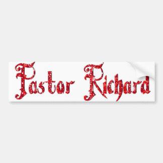 Pastor Richard Autoaufkleber
