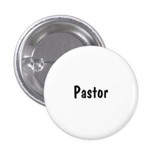 Pastor Runder Button 3,2 Cm
