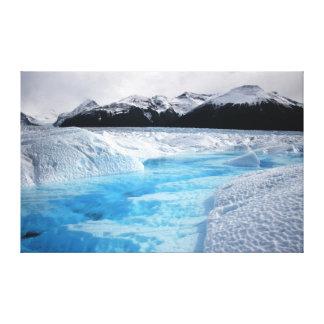 Patagonia Perito Moreno Gletscher 36X23 Leinwanddruck