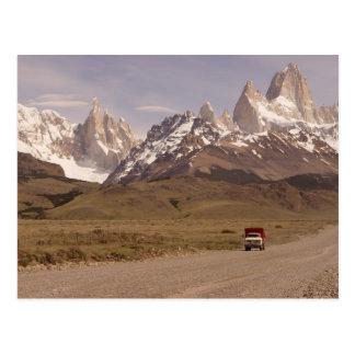 Patagonia, Weise nach El Chaltén Postkarte