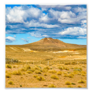 Patagonian Landschaftsszene, Argentinien Fotodruck