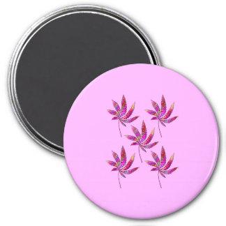 Patchwork-Elemente…. Runder Magnet 7,6 Cm