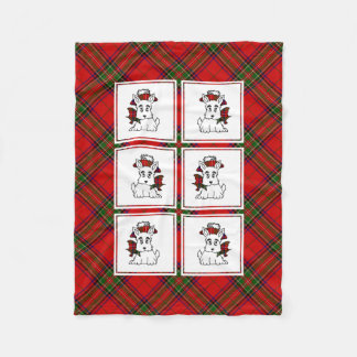 PatchworkScotties Fleecedecke