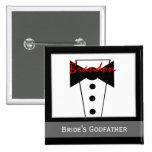 Pate der Braut - kundenspezifisches Tux Wedding Kn Buttons