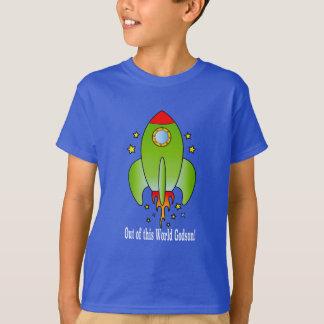Patensohn-Rocket-Schiff Heraus-von-diese Welt T-Shirt