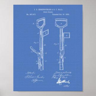 Patent-Kunst-Plan der Poster