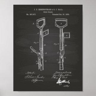 Patent-Kunst-Tafel der Poster
