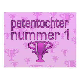 Patentochter Nummer 1 Postkarte