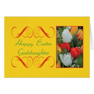 Patenttochter fröhliche Ostern Karte