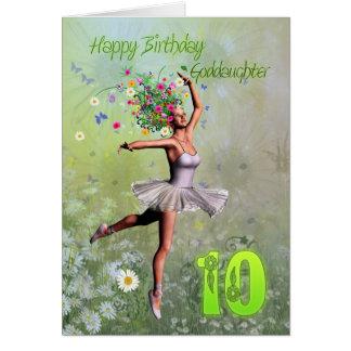 Patenttochteralter 10, feenhafte Geburtstagskarte Karte