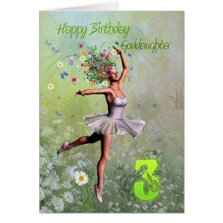 Patenttochteralter 3, feenhafte Geburtstagskarte Karte