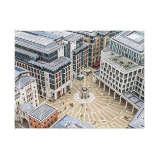 Paternoster Quadrat, London-Leinwanddruck Leinwanddruck