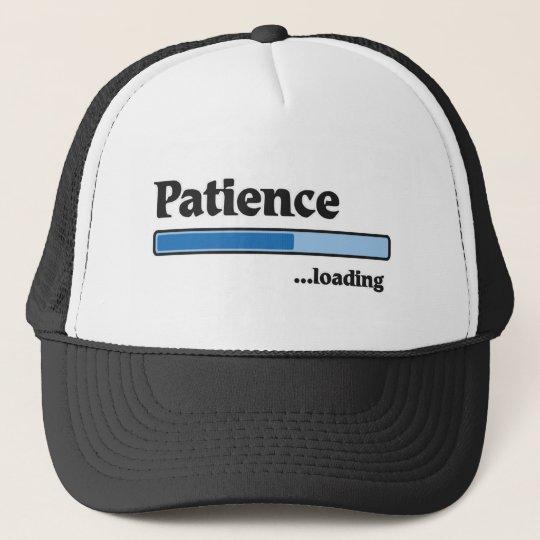 patience loading truckerkappe