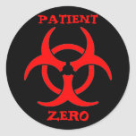 Patienten-nullBiogefährdung-Aufkleber