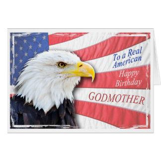 Patin, eine patriotische Geburtstagskarte Grußkarte