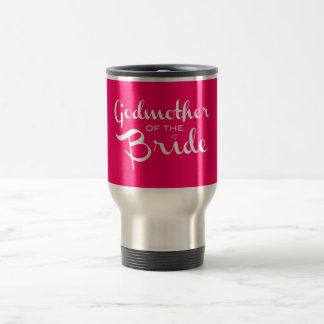Patin von Braut-Weiß auf Pink Reisebecher