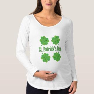 Patrick Tag mit Klee Schwangerschafts T-Shirt