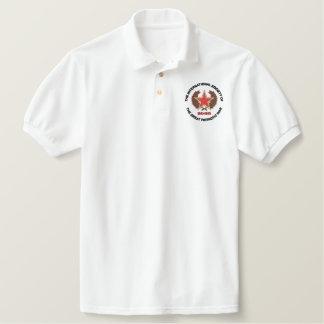 Patrioic Kriegs-Gesellschaft - englische Version Polo Hemd