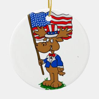 Patriot-Elche Keramik Ornament
