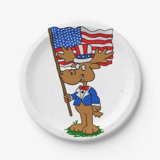 Patriot-Elche Pappteller
