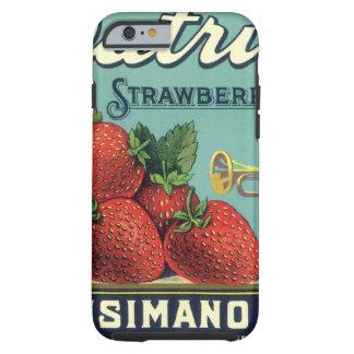 Patriot-ErdbeerVintage Tough iPhone 6 Hülle