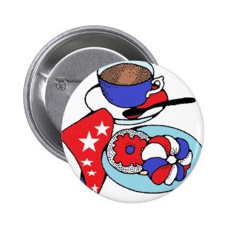 Patriot-Frühstück Button