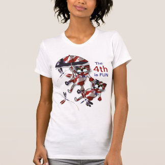 Patriot-Katzen T-Shirt