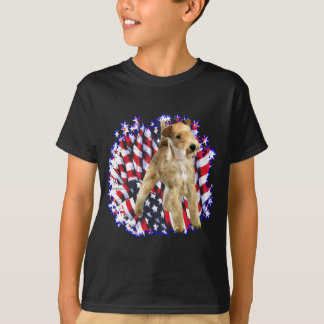 Patriot Lakelands Terrier T-Shirt