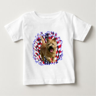 Patriot Norwichs Terrier Baby T-shirt