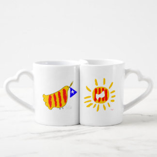 Patriotic Symbol, Catalonia, freedom dove Liebestassen
