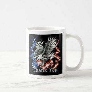 Patriotisch danke Veteranen-TagesTasse Kaffeetasse