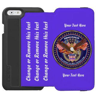 Patriotisch gehen Sie verweisen, um besonders Incipio Watson™ iPhone 6 Geldbörsen Hülle