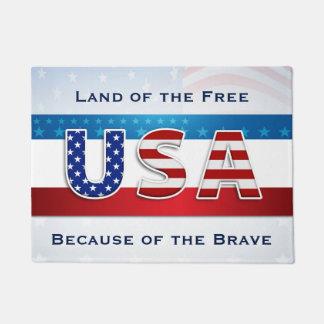 Patriotisch - Land vom freien Türmatte