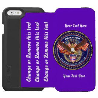 Patriotisch oder Politik gehen Sie verweisen, um Incipio Watson™ iPhone 6 Geldbörsen Hülle
