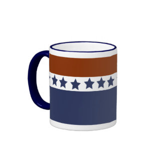 Patriotisch Ringer Tasse