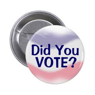 Patriotisch wählten Sie politischen Knopf Runder Button 5,1 Cm