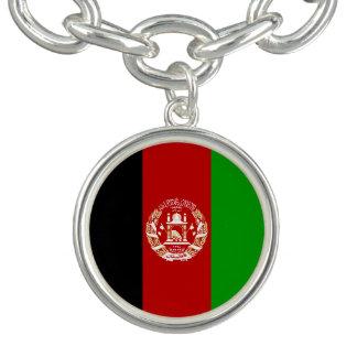 Patriotische afghanische Flagge Armband