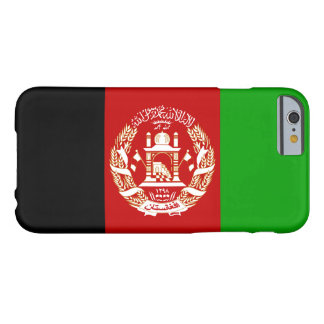 Patriotische afghanische Flagge Barely There iPhone 6 Hülle